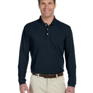 Men's 5.6 oz. Easy Blend™ Long-Sleeve Polo Thumbnail