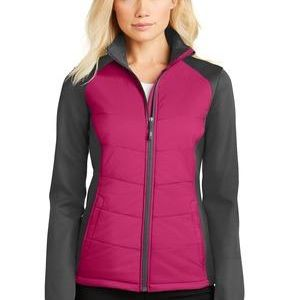 Ladies Hybrid Soft Shell Jacket Thumbnail