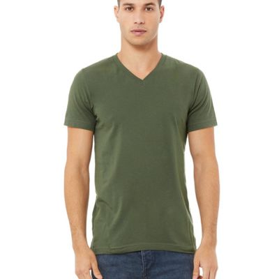 Bella Canvas Unisex Jersey Short-Sleeve V-Neck T-Shirt Thumbnail