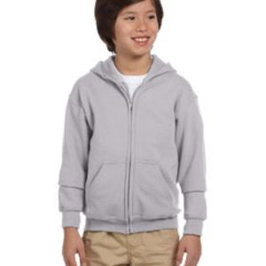Heavy Blend™ Youth 8 oz., 50/50 Full-Zip Hood Thumbnail