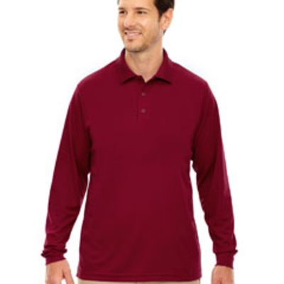 Ash City - Core 365 Men's Pinnacle Performance Long-Sleeve Piqué Polo Thumbnail