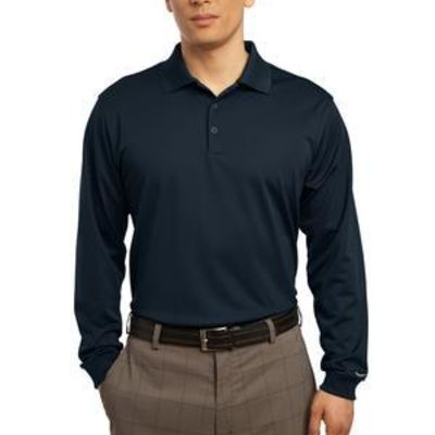 Golf Long Sleeve Dri FIT Stretch Tech Polo Thumbnail