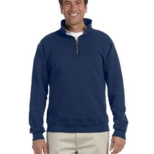 Jerzees Adult 9.5 oz., Super Sweats® NuBlend® Fleece Quarter-Zip Pullover Thumbnail