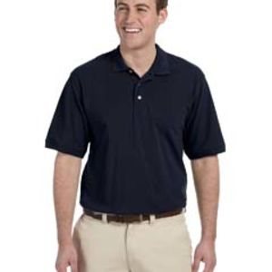 Harriton Men's Tall 5.6 oz. Easy Blend™ Polo Thumbnail