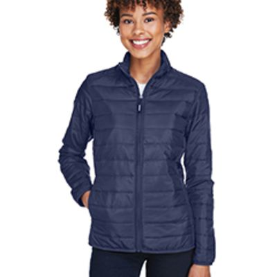 Ash City Ladies' Prevail Packable Puffer Jacket Thumbnail
