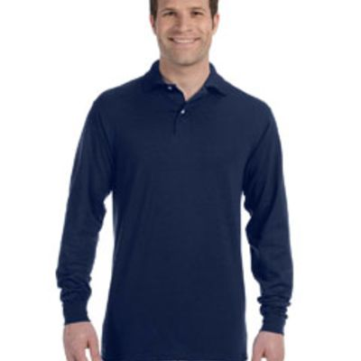 Jeerzees Adult 5.6 oz. SpotShield™ Long-Sleeve Jersey Polo Thumbnail