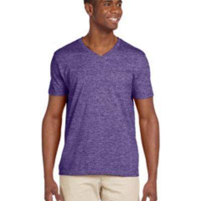 Gildan Adult Softstyle® 4.5 oz. V-Neck T-Shirt Thumbnail