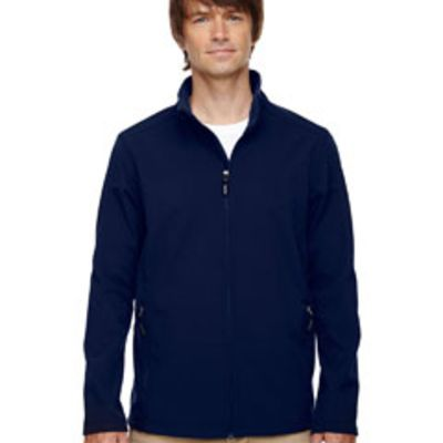 Ash City - Core 365 Men's Tall Cruise Two-Layer Fleece Bonded Soft Shell Jacket Thumbnail