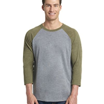 Next Level Unisex Triblend 3/4-Sleeve Raglan Thumbnail
