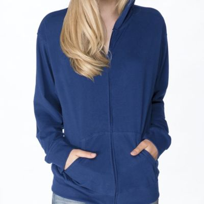 Next Level Adult Sueded Full-Zip Hoody Thumbnail