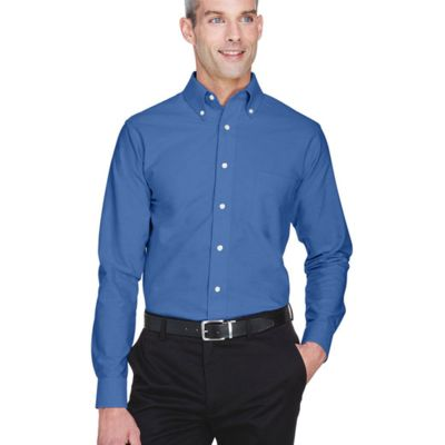 Ultra Club Men's Classic Wrinkle-Resistant Long-Sleeve Oxford Thumbnail